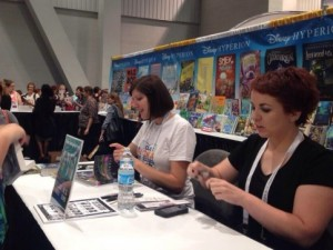 Me and my signing buddy, fellow Hyperion author Melissa Landers